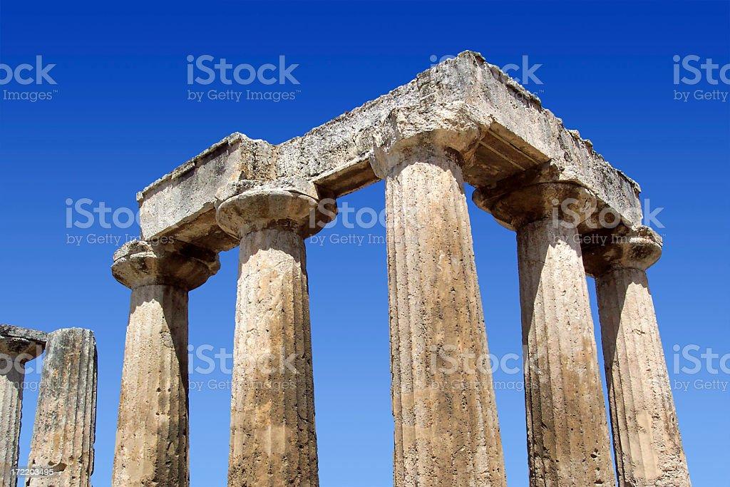 Apollo Temple 2 royalty-free stock photo
