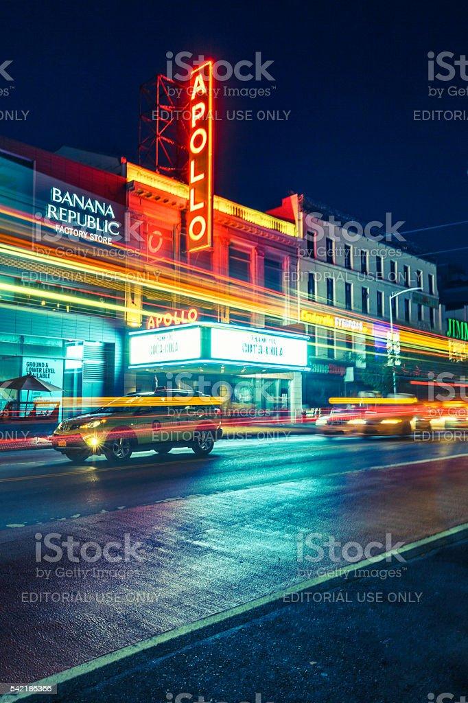 Apollo Theater à Harlem pour la nuit - Photo