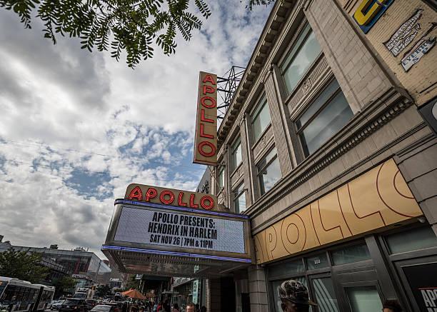 Apollo Theatre, Harlem, New York City, United States stock photo