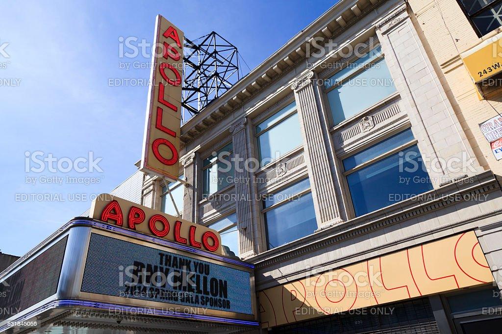 Apollo Theatre stock photo