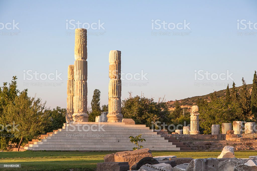 Apollon Smintheus stock photo