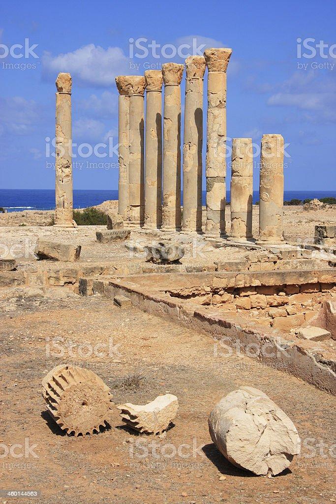 アポロニア遺跡cyrenaica リビアます - キレナイカのストックフォトや ...