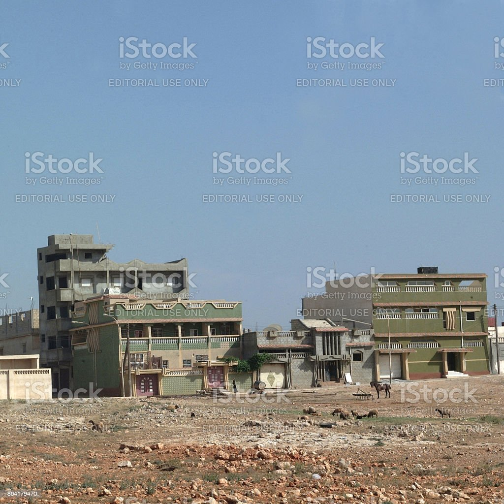 Apollonia, Libya royalty-free stock photo