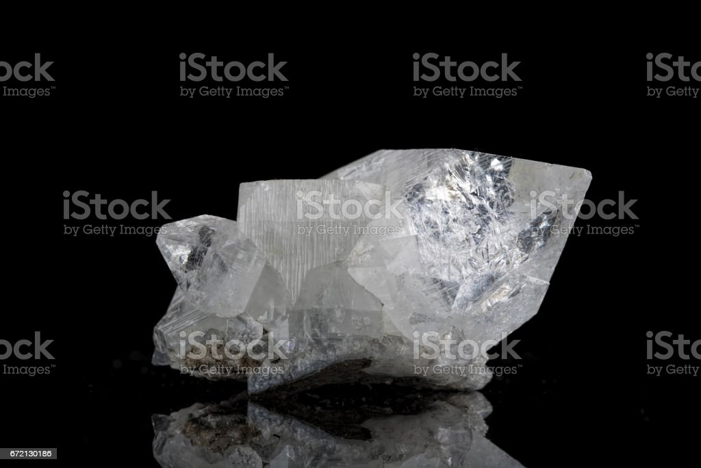 Apophyllite stock photo