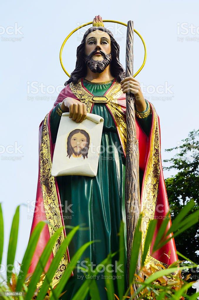 Apostle of Christ royalty-free stock photo