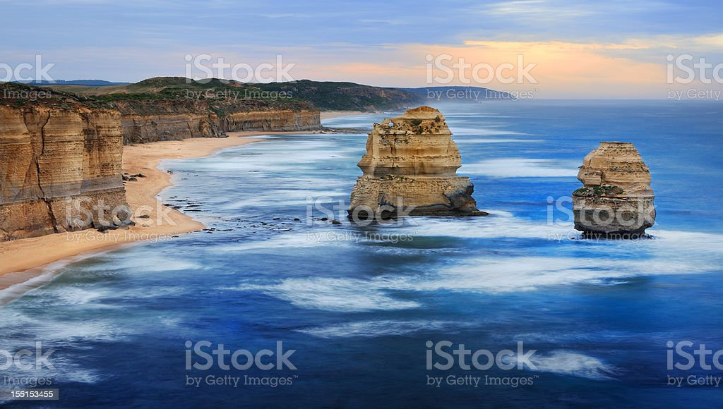 12 Apostles, Great Ocean Road, Victoria, Australia (XXXL) stock photo