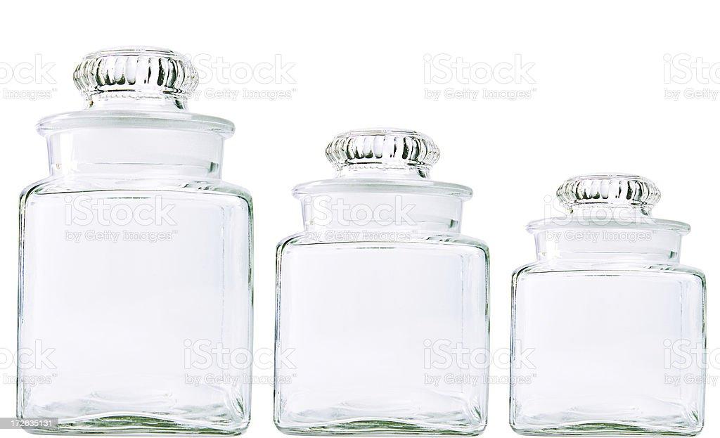 Apothecary jars stock photo