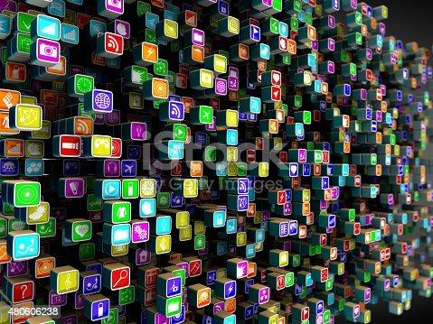 istock App icons 480606238