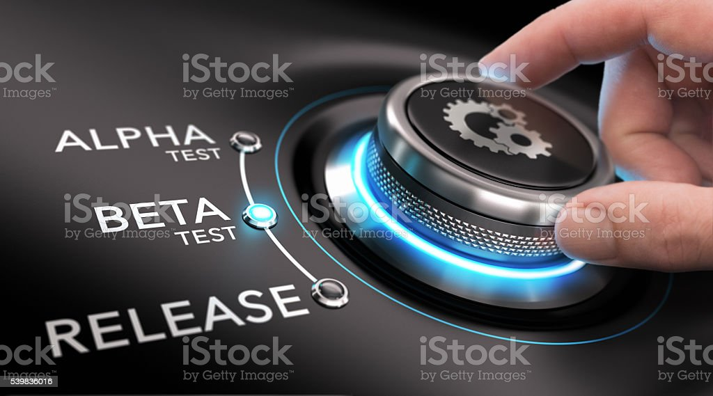 App or Software Development stock photo