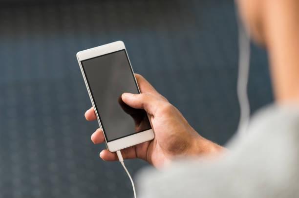 App phone stock photo