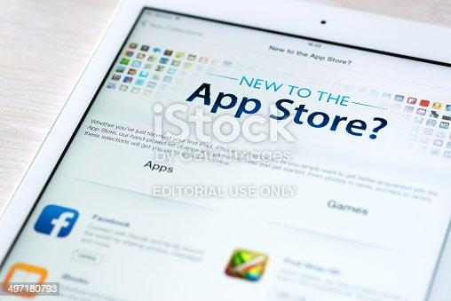 istock App Store features on Apple iPad Air 497180793