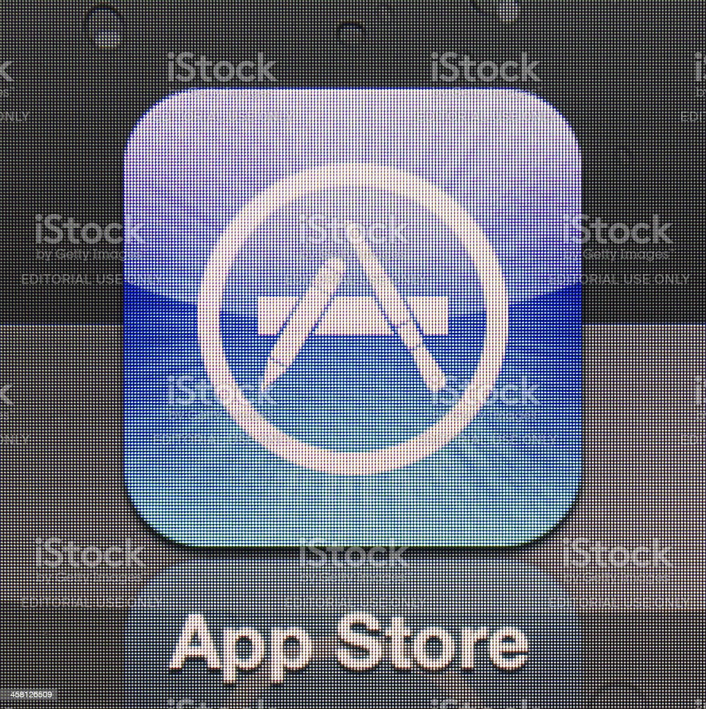 App Store royalty-free stock photo