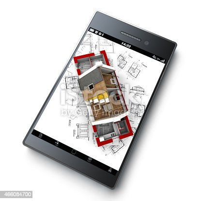 istock App that helps with installation and insulation blueprints 466084700