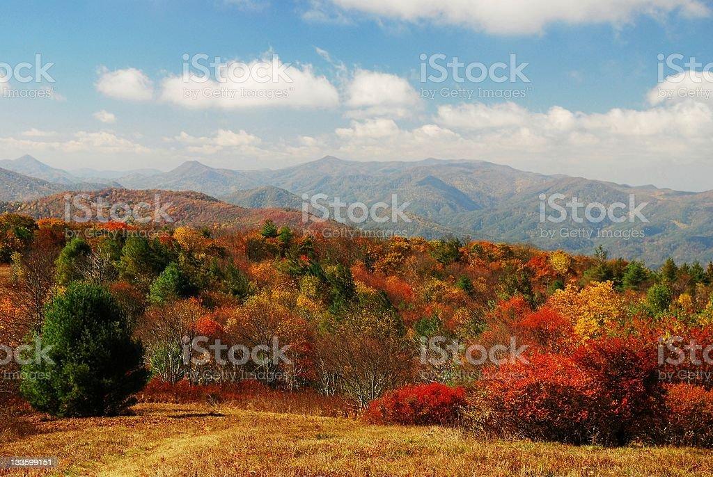 Appalachain Autumn royalty-free stock photo