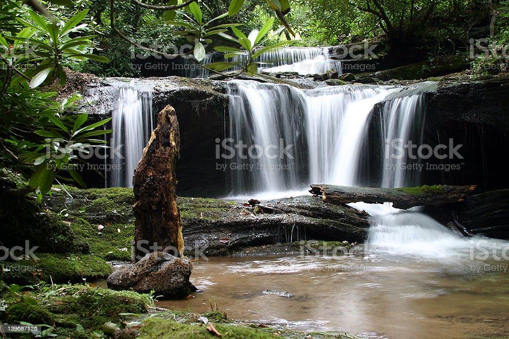 Appalachian Cascade royalty-free stock photo