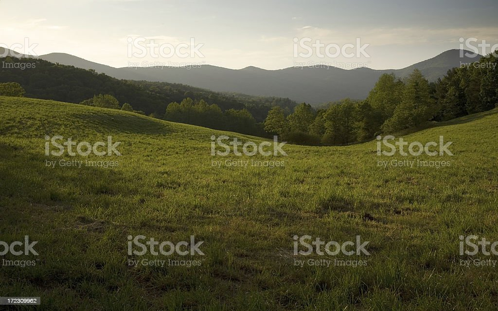 Appalachian Field stock photo