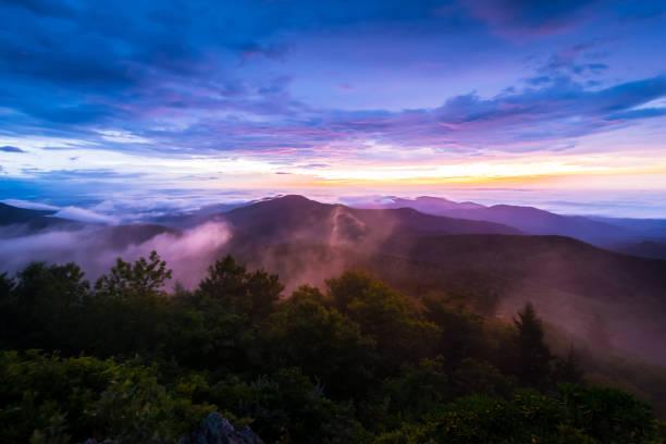 Appalachian Mountain Sunrise - foto de stock