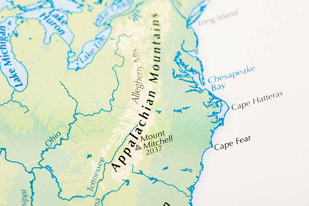 Best Appalachian Mountains Map Stock Photos, Pictures ...