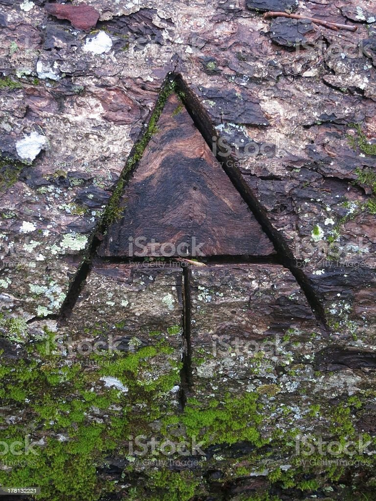 Appalachian Trail Logo stock photo