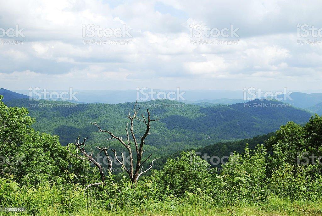 Appalachians royalty-free stock photo