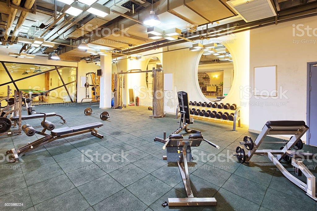 Photo de Appareils Et équipements De La Salle De Sport Moderne ...