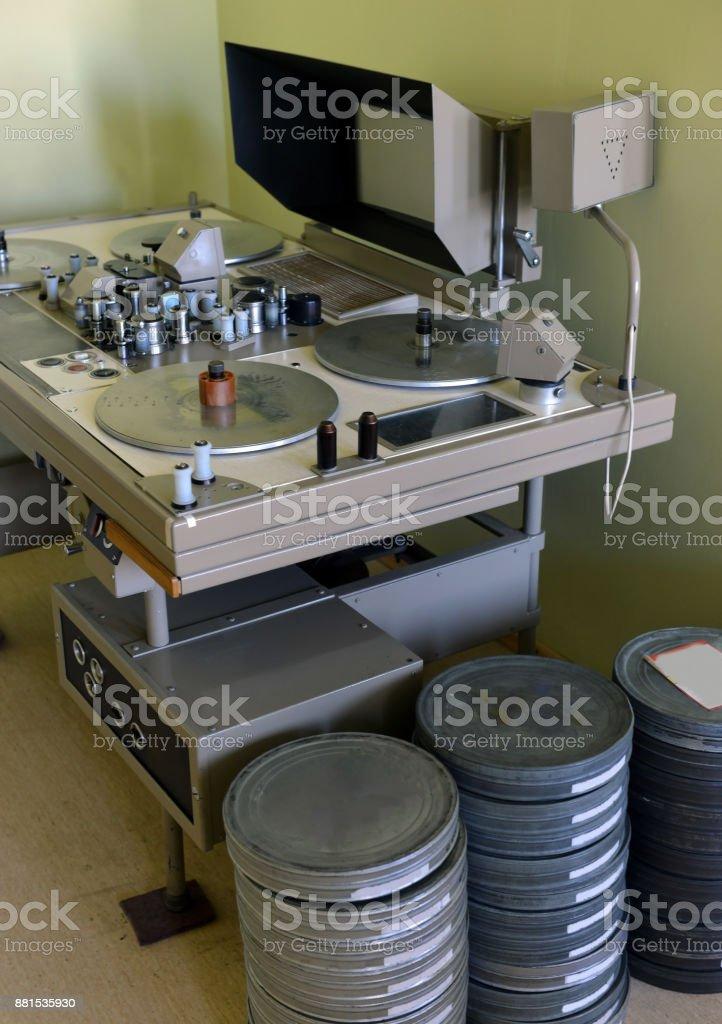 apparatus for retouching film stock photo