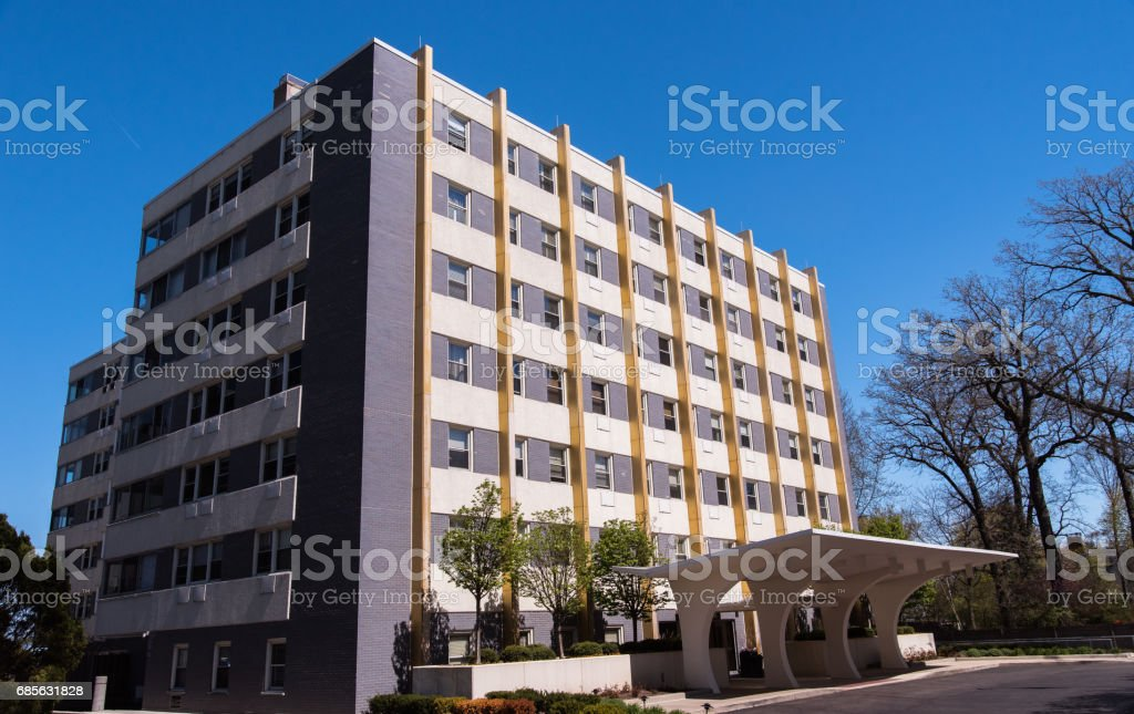 Appartment building royalty-free stock photo