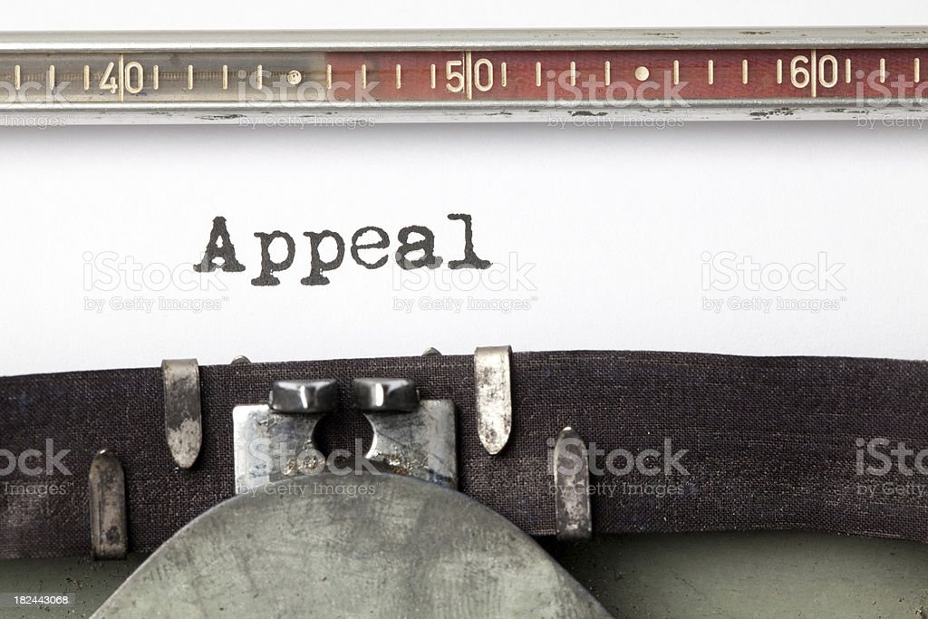 Appeal stock photo