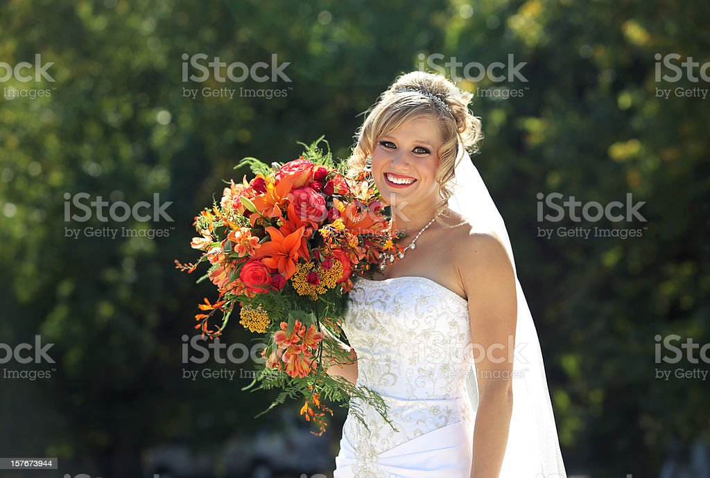 appealing wedding photos royalty-free stock photo
