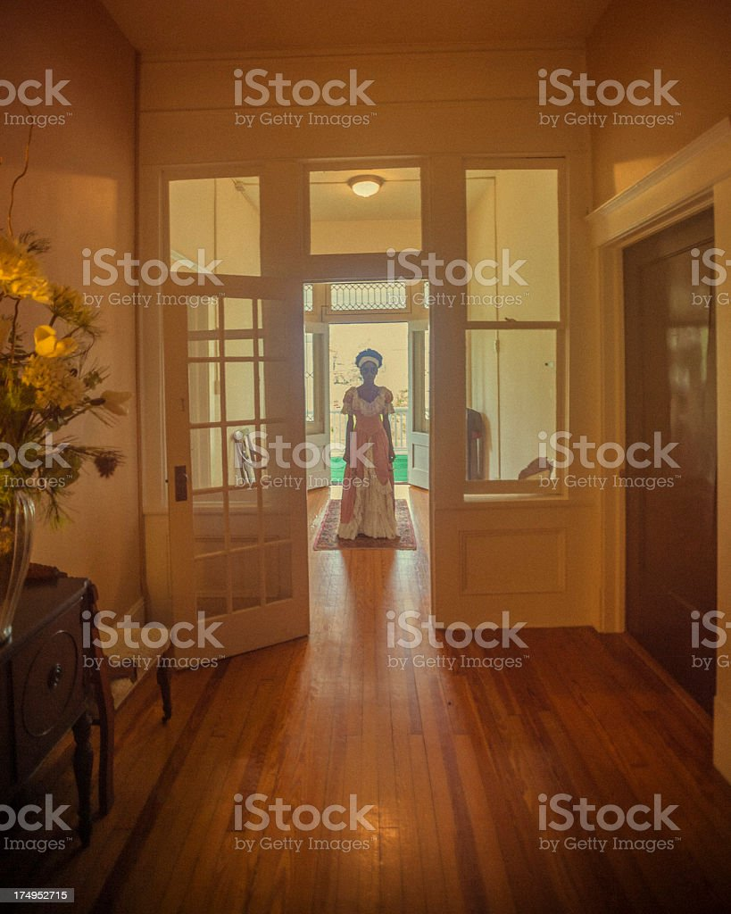 Apparition stock photo