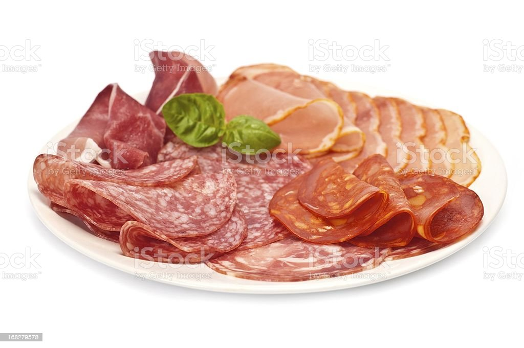 Antipasto stock photo