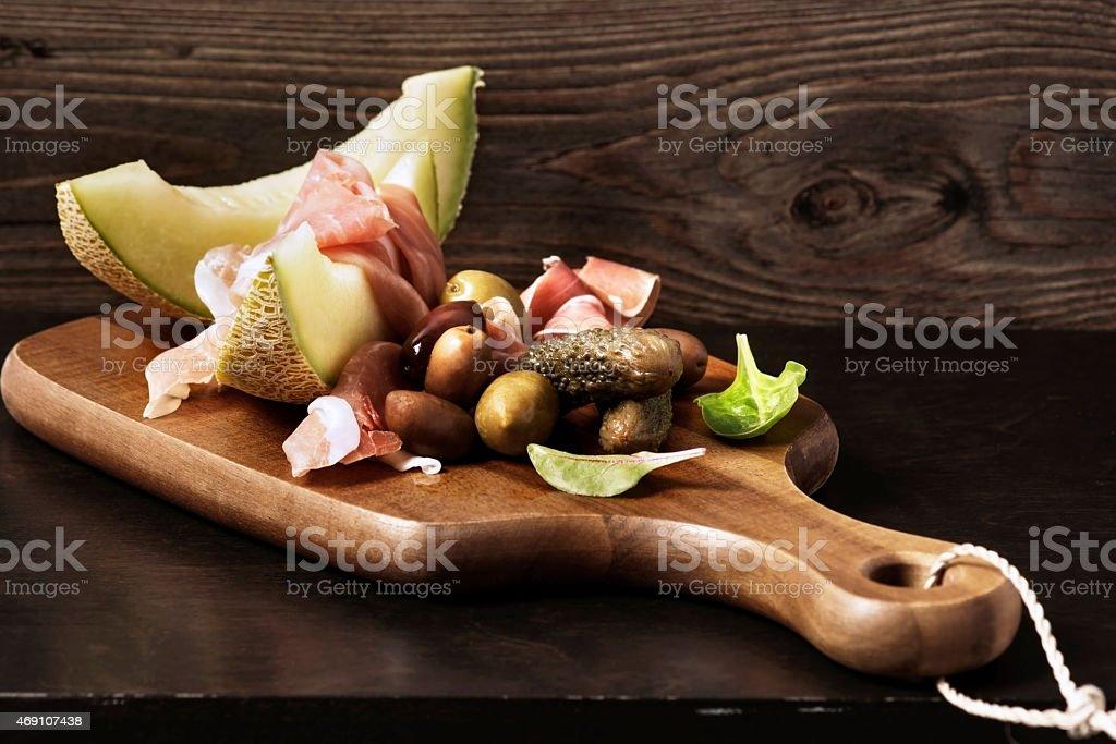 Appetizer stock photo
