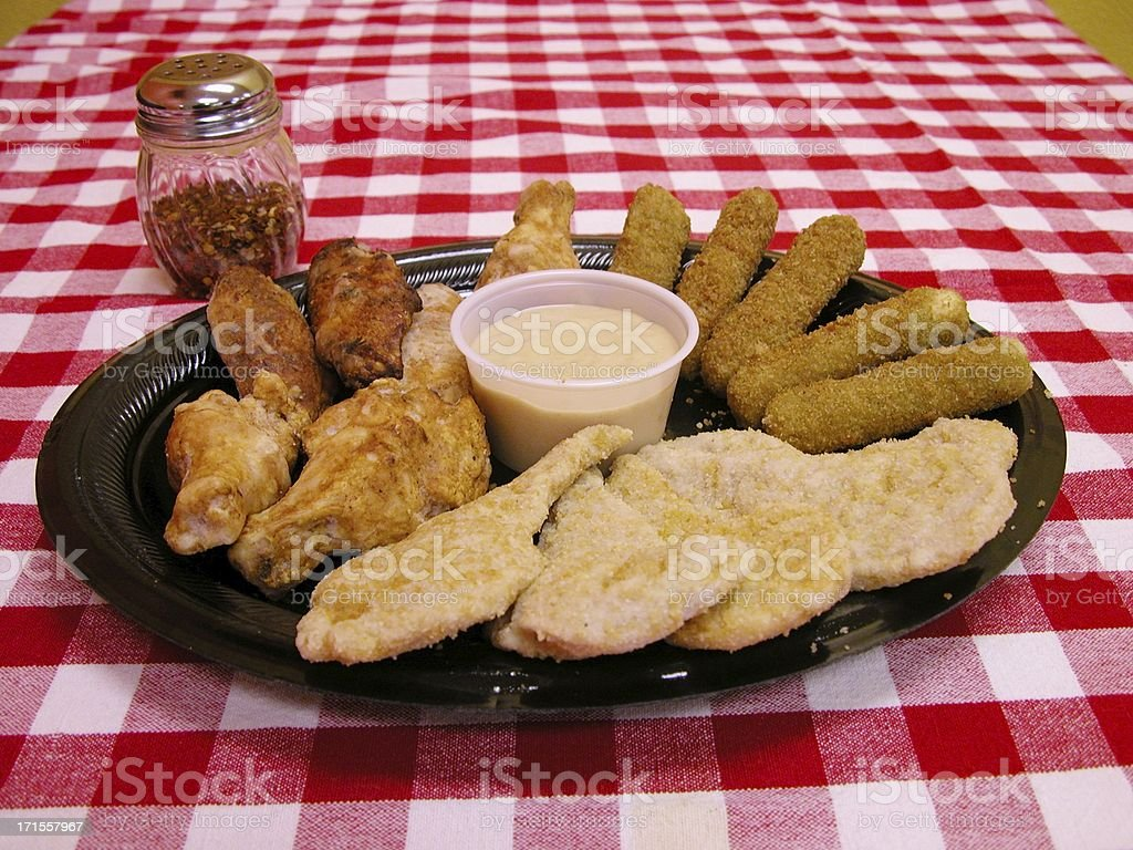 Appetizer plate royalty-free stock photo