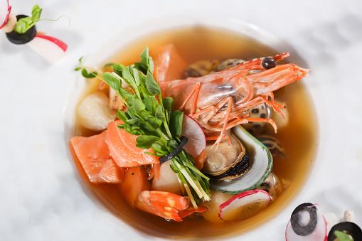 Appetizer Shrimp Stock Photo - Download Image Now