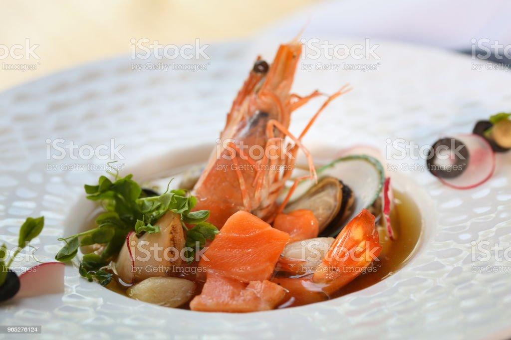 appetizer  &  shrimp zbiór zdjęć royalty-free