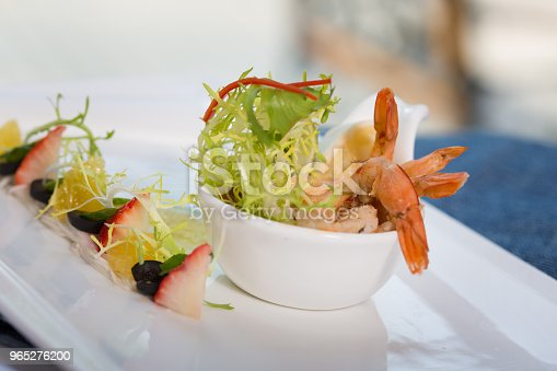 Appetizer Shrimp Stock Photo & More Pictures of Alcohol