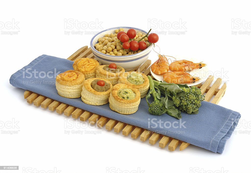 Appetizers Pate royalty-free stock photo