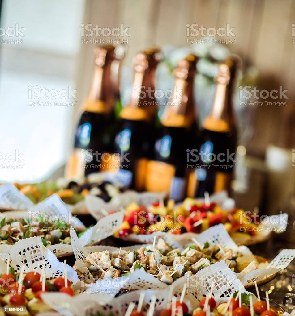 Appetizers stock photo