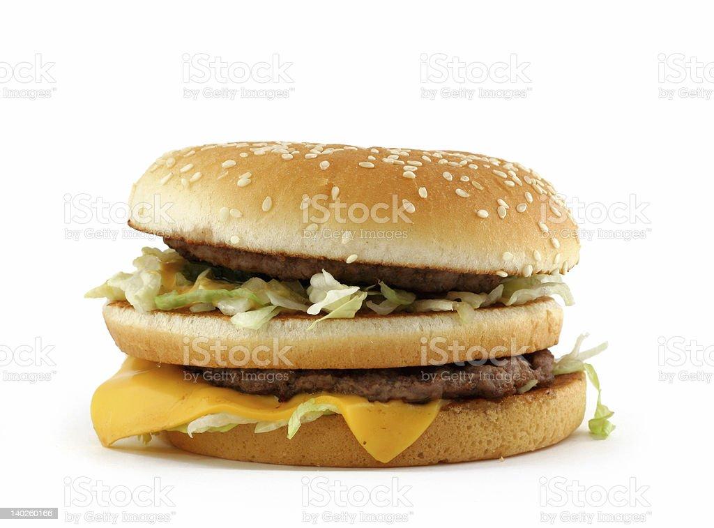 appetizing hamburger royalty-free stock photo