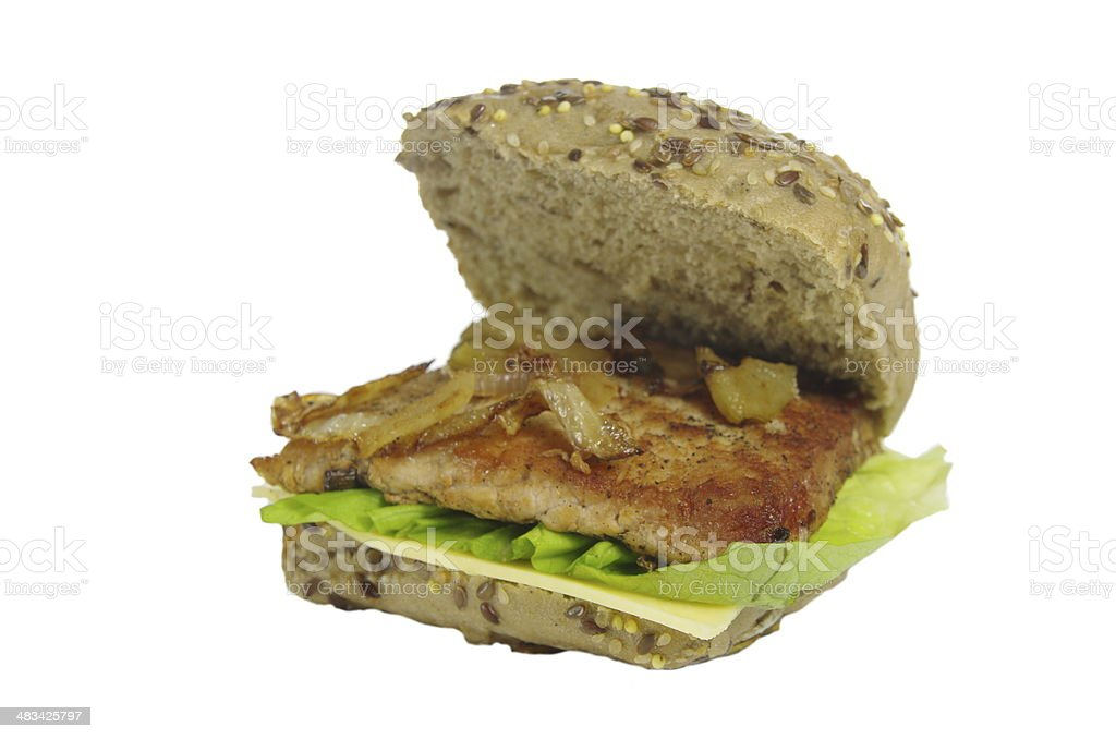appetizing sandwich stock photo