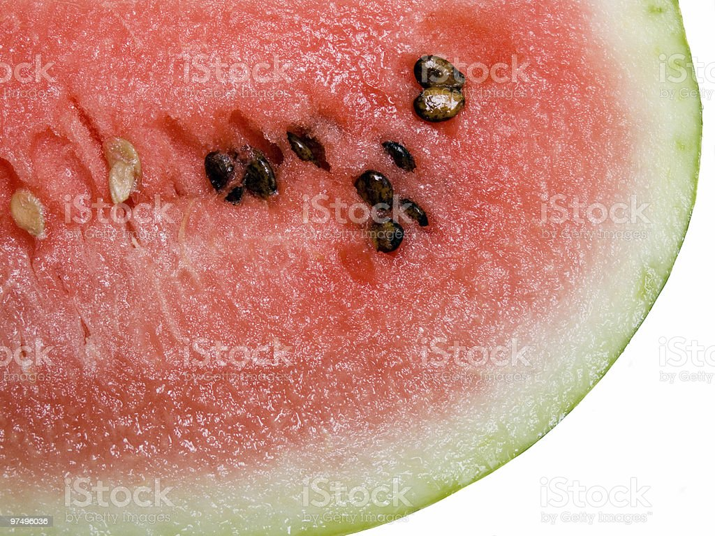 Appetizing slices of watermelon royalty-free stock photo