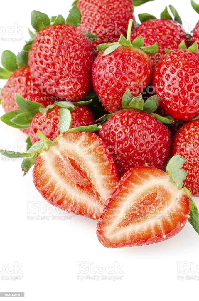 Appetizing strawberries royalty-free stock photo
