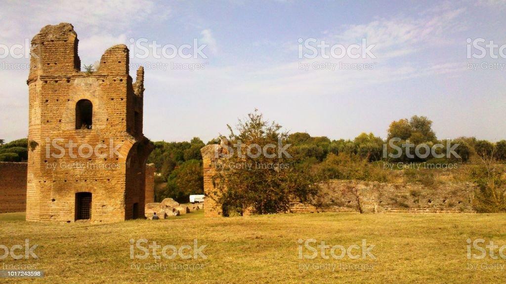 Appia Antica Roma - foto stock