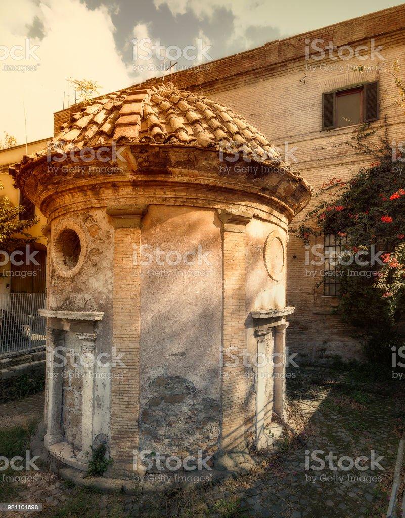 Appian Way stock photo