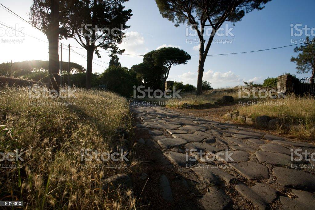 Appian way - foto stock