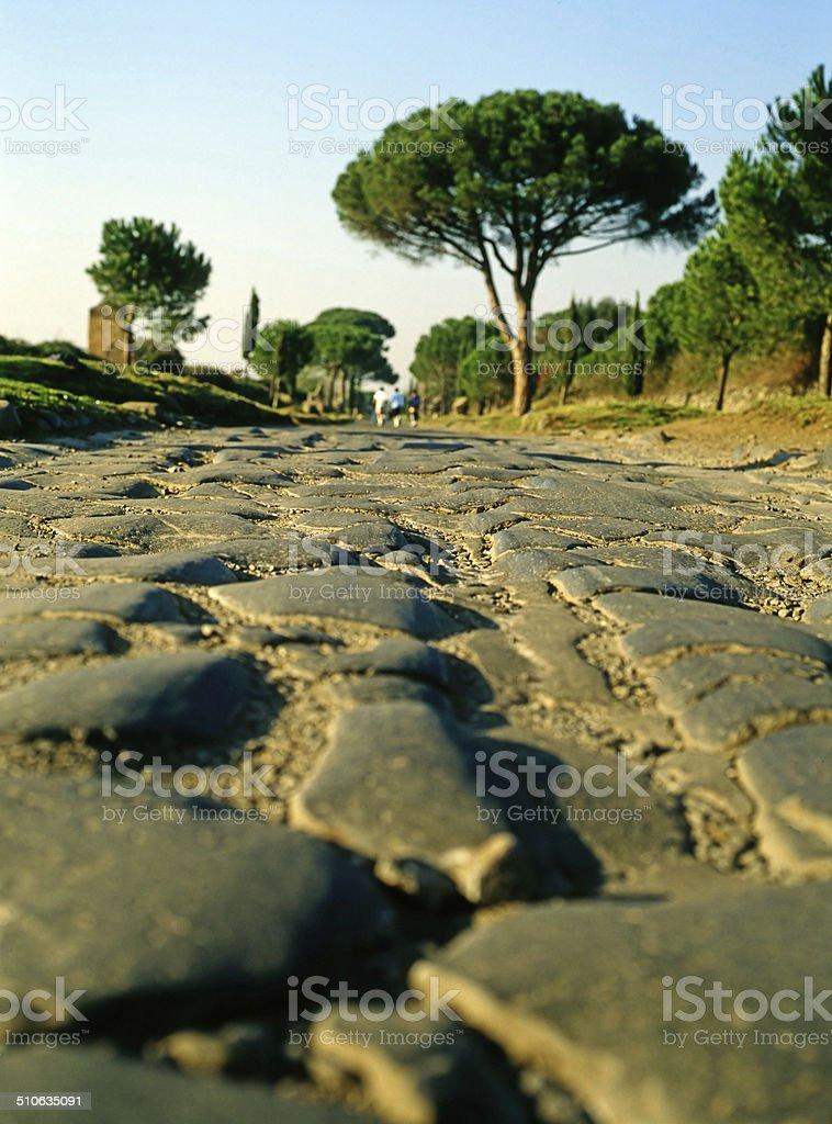 Appian Way, Rome stock photo