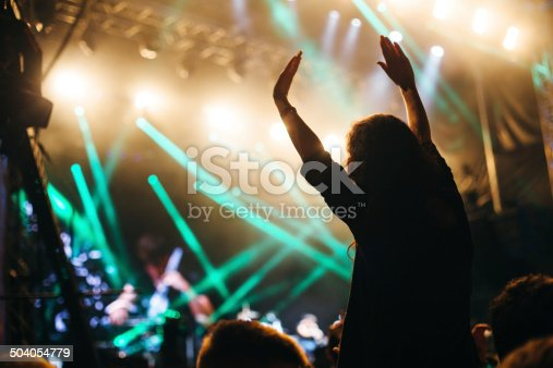 1069137774 istock photo Applauding at the concert 504054779