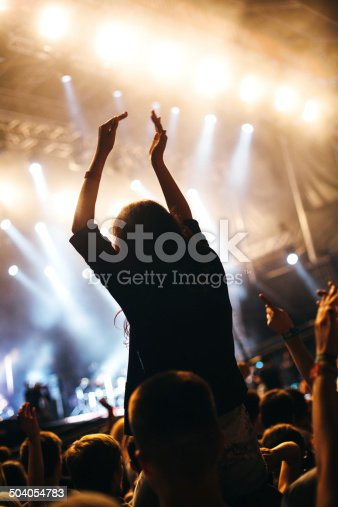 1069137774 istock photo Applauding at the concert 504054783