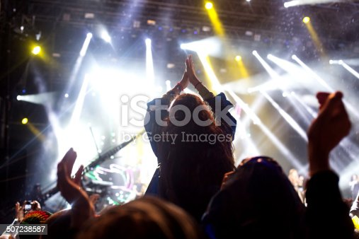 1069137774 istock photo Applauding at the concert 507238587