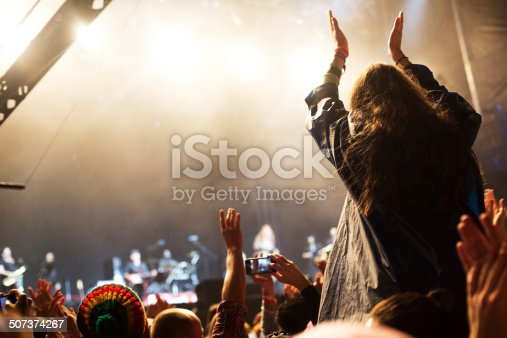 1069137774 istock photo Applauding at the concert 507374267